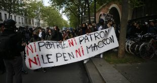 franta proteste tineri le pen macron prezidentiale