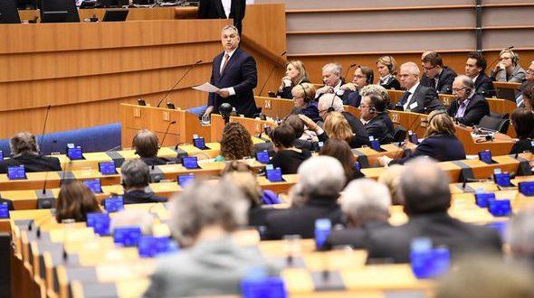 ungaria premier viktor orban parlament european discurs