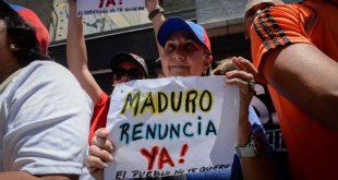 venezuela proteste maduro miting oua pietre