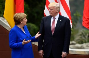 germania merkel summit g7 trump tensiuni