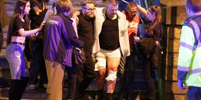 Două explozii care au avut loc la sfârșitul unui concert susținut de Ariana Grande la Manchester Arena au provocat victime în rândul spectatorilor. Foto: Joel Goodman / LNP