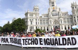 spania proteste madrid marsul demnitatii