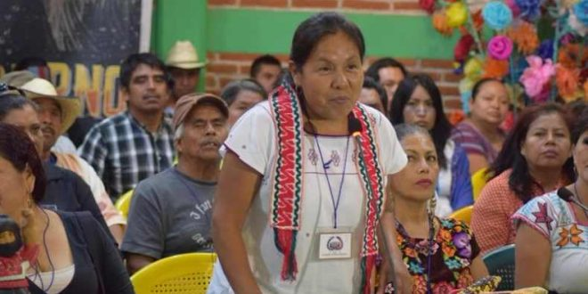Maria de Jesus Patricio Martinez este primul cetățean indigen al Mexicului care a fost desemnat să participe la alegerile prezidențiale din această țară.