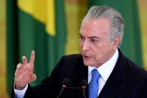 brazilia presedinte michel temer