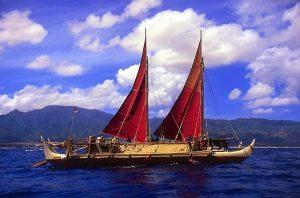 hawaii hokulea ambarcatiune canoe polinezia