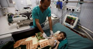 Lipsa alimentelor și a apei potabile, precum și condițiile insalubre provocate de războiul civil din Yemen au favorizat răspândirea ceiei mai grave epidemii de holeră din lume, până acum fiind înregistrate peste 200.000 de cazuri, iar zilnic alte 5.000 apar, potrivit Organizației Națiunior Unite