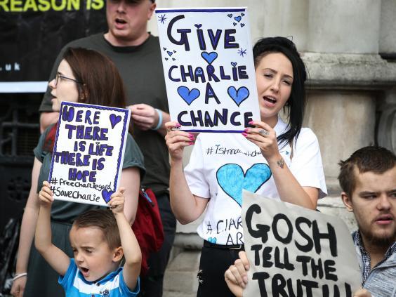 charlie gard campanie spital gosh proces tribunal etica