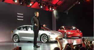 tesla elon musk model 3 lansare masina electrica pret atractiv